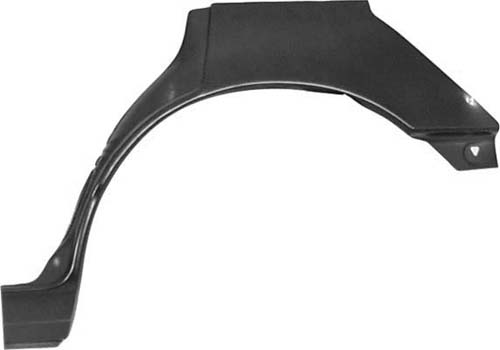 L/H rear wheel arch 4 - door models saloon & hatchback (not est)