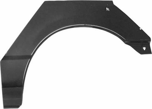 L/H rear wheel arch 2- door models
