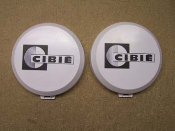 Pack Of Two Cibie Oscar 7inch fog light covers