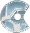 L/H Front Brake Disc Backing Plate