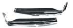 MERCEDES PAGODA W113 230SL/280SL FRONT BUMPERS 1 PAIR INC CHROME JOINING COVER