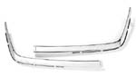 MERECEDES  SL 107 FRONT BUMPER CHROME TWO PIECES