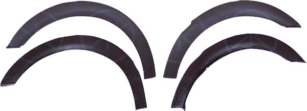 SET OF FOUR WHEEL ARCH TRIMS STANDARD MODELS