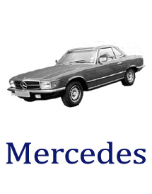 1970's Mercedes car parts direct