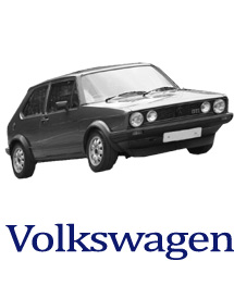 VW Golf motor spares and chassis parts